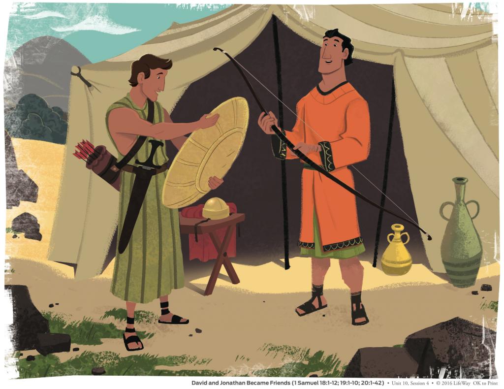 LCC Kidopolis Blog | Making it Stick: David and Jonathan became ...